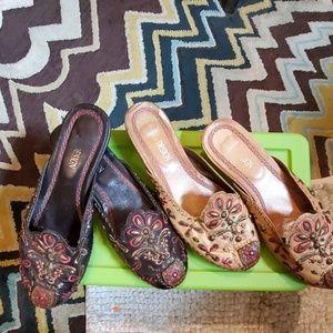 Mule shoes vintage